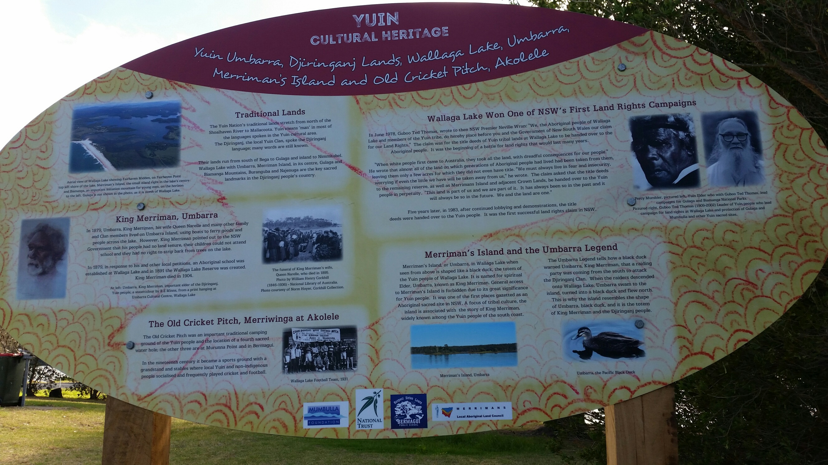 Yuin Cultural heritage Trail